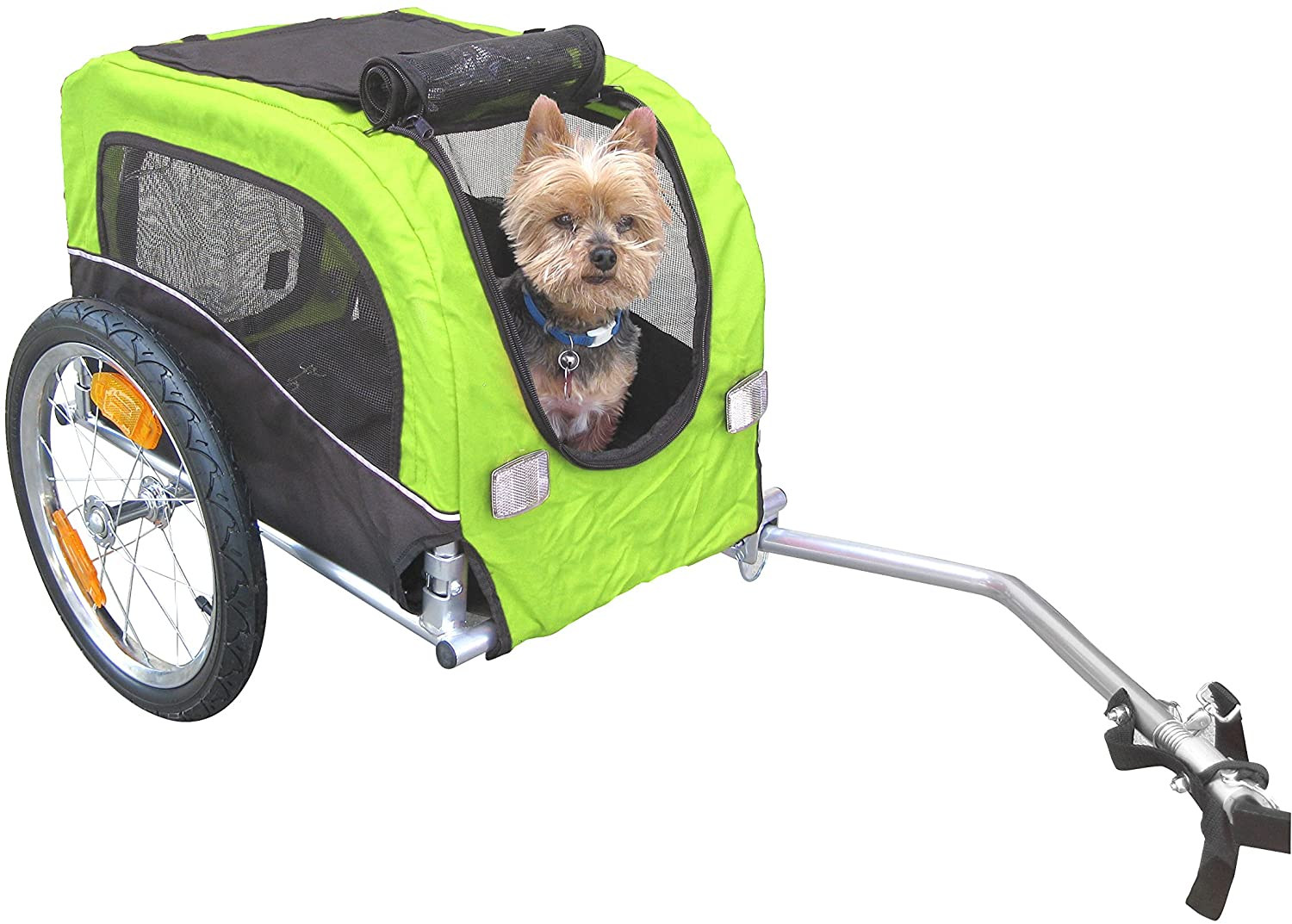 Best Dog Bicycle Trailers - Booyah Small Dog Pet Bike Trailer